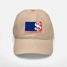 Major League Accountant Baseball Baseball Cap