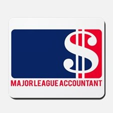 Major League Accountant Mousepad