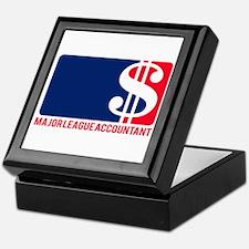 Major League Accountant Keepsake Box