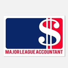 Major League Accountant Postcards (Package of 8)