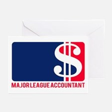 Major League Accountant Greeting Cards (Pk of 10)