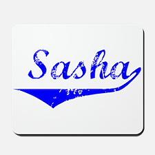 Sasha Vintage (Blue) Mousepad