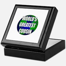 World's Greatest Cousin Keepsake Box