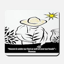 Heaven - Thoreau Mousepad
