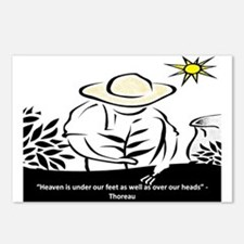 Heaven - Thoreau Postcards (Package of 8)