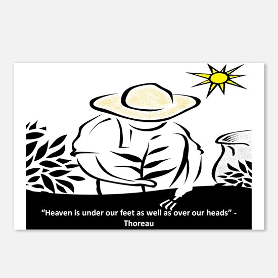 Heaven - Thoreau Postcards (Package of 8)