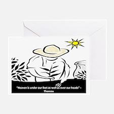 Heaven - Thoreau Greeting Card