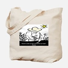 Heaven - Thoreau Tote Bag