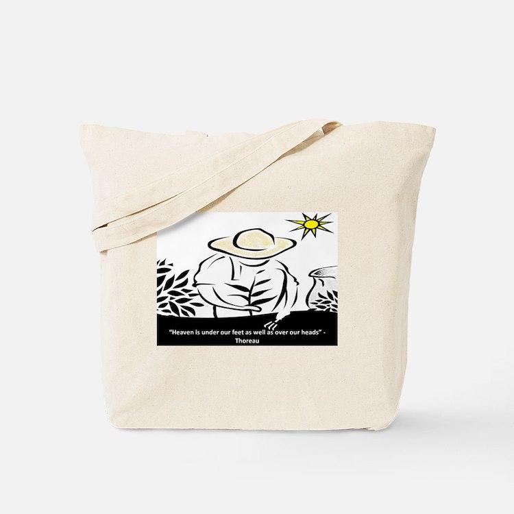 Heaven - Thoreau Tote Bag