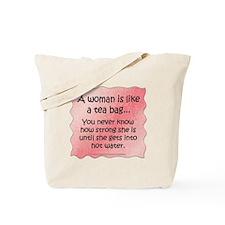 Tea Bag Tote Bag