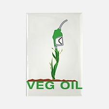 Veg Oil Rectangle Magnet