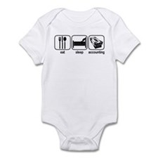 Eat Sleep Accounting Infant Bodysuit