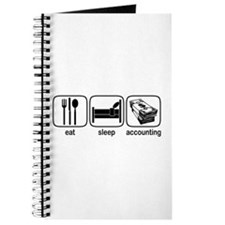 Eat Sleep Accounting Journal