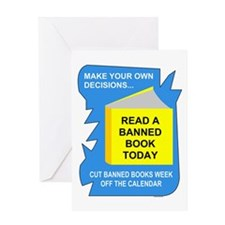 Read Banned Books Greeting Card
