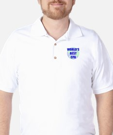 World's Best CPA Golf Shirt