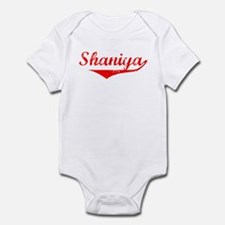 Shaniya Vintage (Red) Infant Bodysuit