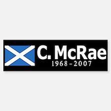 Colin McRae Tribute Bumper Bumper Sticker