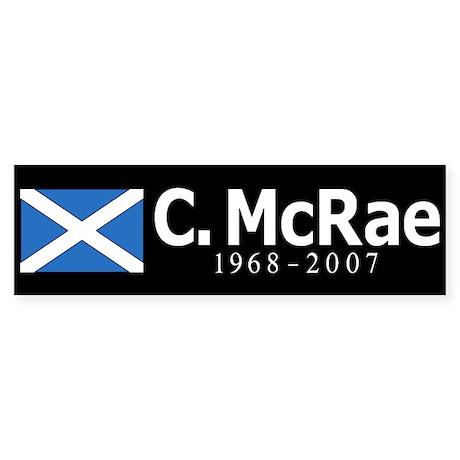 Colin McRae Tribute Sticker
