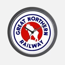 Great Northern Railway logo 5 Wall Clock