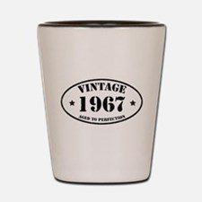 Vintage Aged to Perfection 1967 Shot Glass
