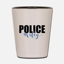 Police Wifey Shot Glass
