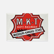 Missouri Kansas Texas Railroad logo Magnets