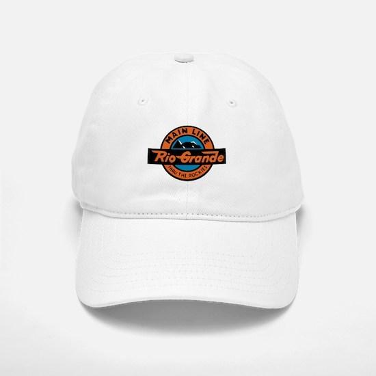 Rio Grande Railway logo 2 Baseball Baseball Cap