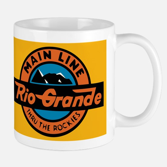 Rio Grande Railway logo 1 Mugs