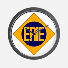 Erie Railway logo 2 Wall Clock