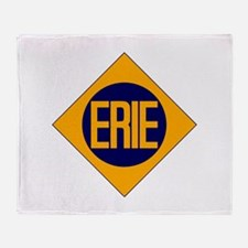 Erie Railway logo 2 Throw Blanket