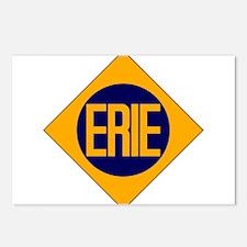 Erie Railway logo 2 Postcards (Package of 8)