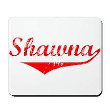 Shawna Vintage (Red) Mousepad