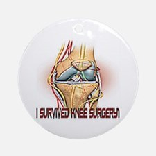 Knee Surgery Gift 4 Ornament (Round)