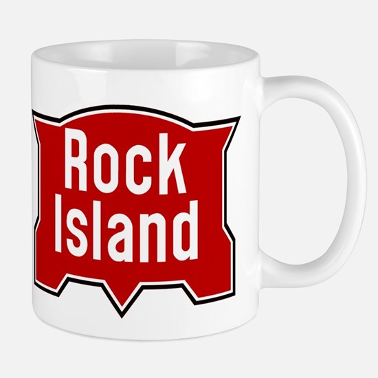 Rock Island railway logo 2 Mugs
