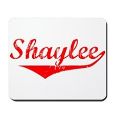 Shaylee Vintage (Red) Mousepad