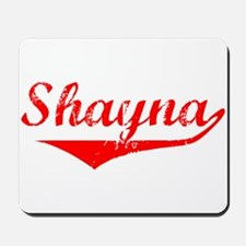 Shayna Vintage (Red) Mousepad