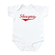 Shayna Vintage (Red) Infant Bodysuit
