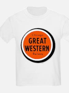 Chicago Great Western Railway logo 2 T-Shirt