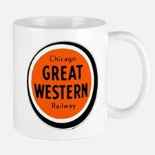 Chicago Great Western Railway logo 2 Mugs