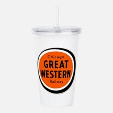 Chicago Great Western Acrylic Double-wall Tumbler
