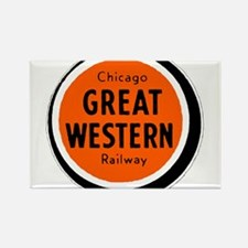 Chicago Great Western Railway logo 2 Magnets