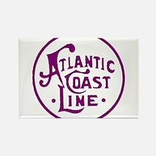 Atlantic Coast Line railroad logo 2 Magnets