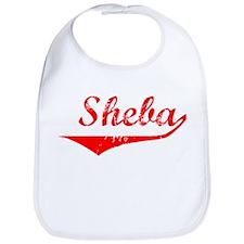 Sheba Vintage (Red) Bib