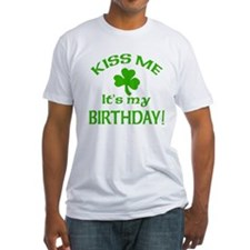 Kiss Me It's My Birthday St Pat's Day Shirt