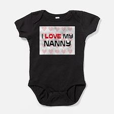 Unique Nanny Baby Bodysuit