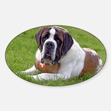 Saint Bernard Dog2 Decal