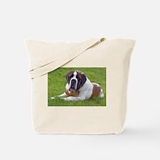 Saint Bernard Dog2 Tote Bag