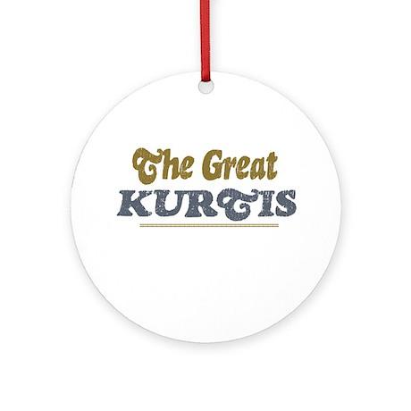 Kurtis Ornament (Round)