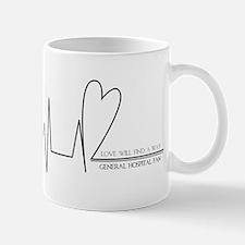Liason Heartline Mug