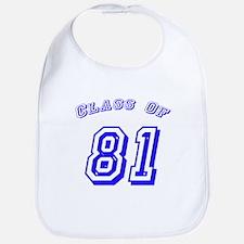 Class Of 81 Bib
